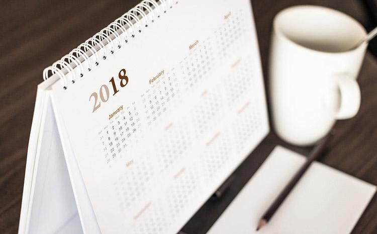 calendario 2018 excel a scaricare